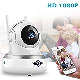 BABY MONITOR ZLMI Babyphone Wireless Kamera HD 2.0 Megapixel Auflösung Zwei-Wege-Audio und -Dialog 2 Millionen Pixel kompatibel mit Android/Ios