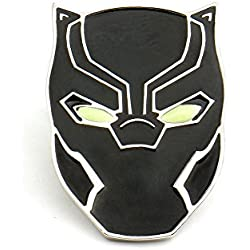OMG Avengers Black Panther Pin Glow in the Dark Brooch Wakanda King T'Challa **FREE GIFT BAG** with all orders