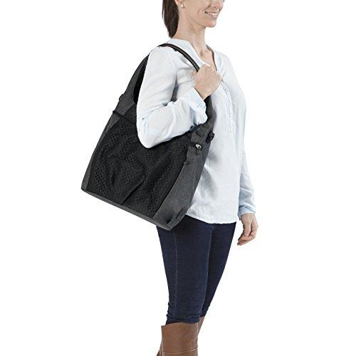 Lässig Casual Hobo Bag Wickeltasche/Babytasche inkl. Wickelzubehör, black - 4