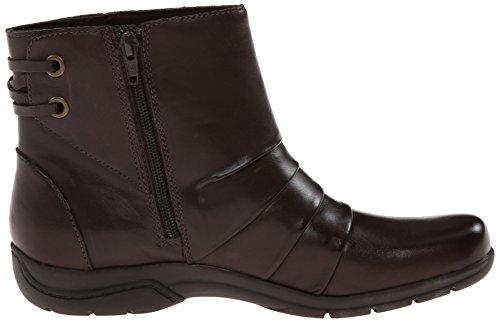 Clarks Christine Tilt Boot Brown Leather