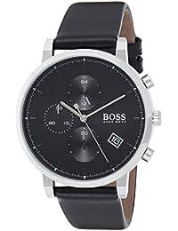 Hugo Boss Orologio Cronografo Quarzo Uomo con Cinturino in Pelle 1513777