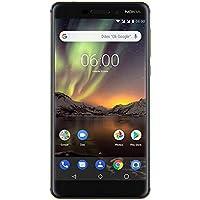 Nokia 6.1 - Dual SIM - Smartphone Débloqué 4G LTE (Ecran : 5,5 Pouces Full HD - Format 16:9 - 3Go RAM - 32Go Stockage - Android One) Bleu [Version Française]
