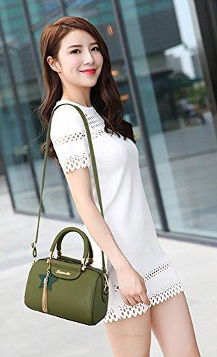 CLOTHES- Trend di modo delle borse degli uomini della borsa del sacchetto del sacchetto del sacchetto del sacchetto del messaggero delle donne europee ed americane Sacchetto delle signore della borsa  Verde militare