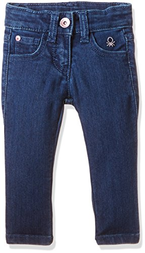 United Colors of Benetton Baby Girls' Jeans (17P4DENC03EII902_902_Blue_1Y)