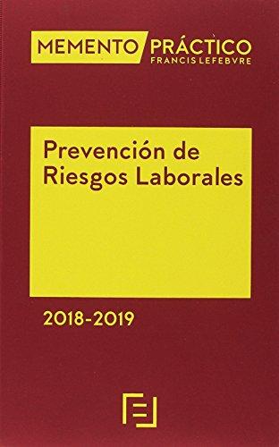 Memento Prevención Riesgos Laborales 2018-2019