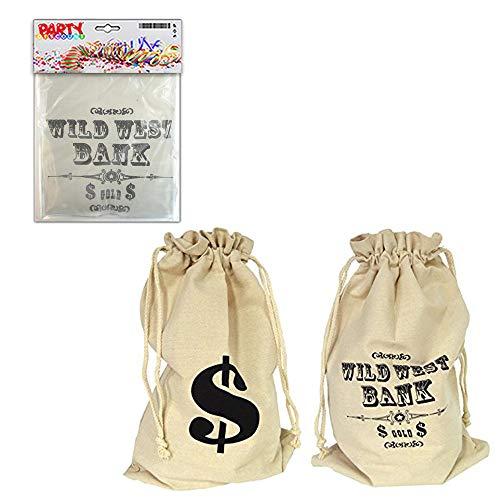Kleinkind Kostüm Für Geld Tasche - PARTY DISCOUNT Geldsack, Moneybag, 29 x 48 cm