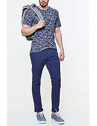 Pantalon Chino Oxbow Thorond Bleu Homme