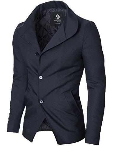 MODERNO - Blazer - Manches Longues - Homme Bleu Marine