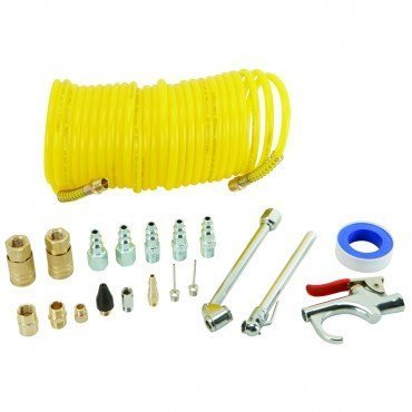 20 Piece Air Compressor Starter Kit by Central Pneumatic -
