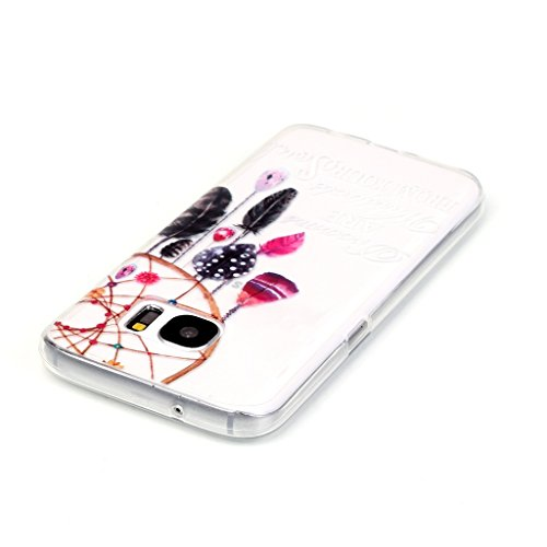 Uming® Transparent Retro bunte Muster Druck weiche TPU Fall Abdeckung Hülle Case Cover ( Dreamcatcher - für IPhone6SPlus IPhone 6SPlus 6Plus IPhone6Plus ) Silicone Silikon Shell Schutz Handy-Fall Cell Dreamcatcher