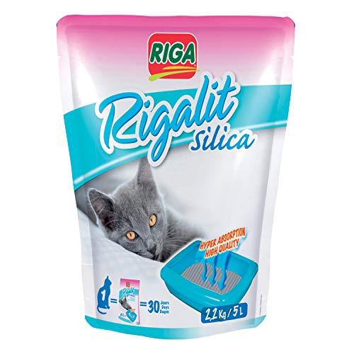 Riga 002766 Silica für Katzenstreu, 2.2 kg