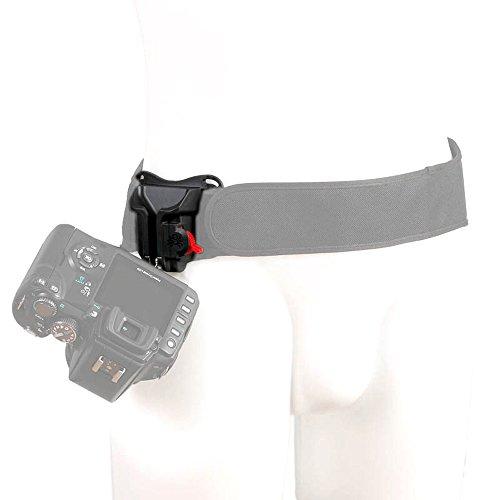 Spider Black Widow Camera Kamera kleine DSLRs und spiegellose Systemkameras - passt an den Black Widow Belt oder an Normale Hosen-Gürtel bis 4,8 cm