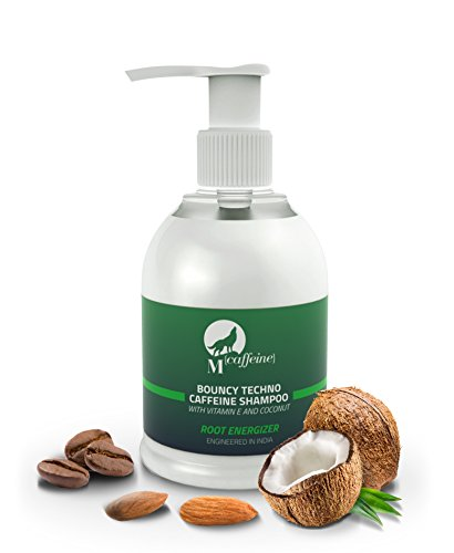 Mcaffeine Bouncy Techno Caffeine Shampoo, 150ml