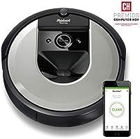 iRobot Roomba robotstofzuiger Premium robotstofzuiger. Lichtzilver.