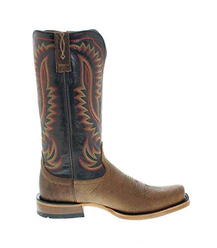 FB Fashion Boots Ariat Palo Duro 21635 Cattleguard Brown/Herren Westernreitstiefel Braun Schwarz/Reitstiefel/Westernstiefel Cattleguard Brown