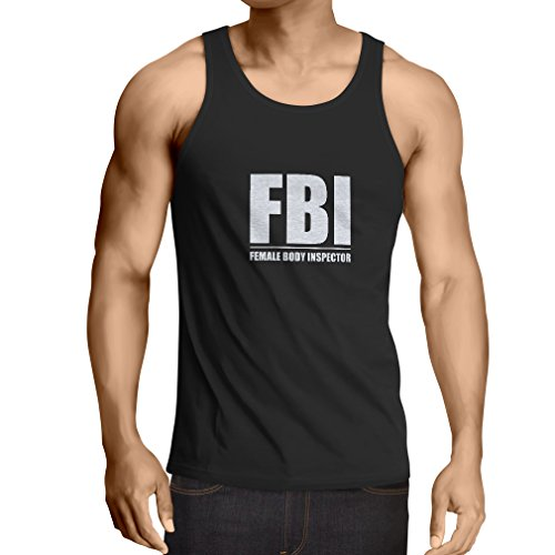Vest Female Body Inspector - funny gifts for men, humorous quotes