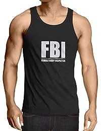 c94137c9ba91 Weste FBI - weiblicher Körper Inspektor - lustige Geschenke für Männer,  humorvolle Zitate