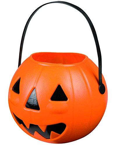 Ciao 30796-Pumpkin Basket PORTADOLCI Bucket, 14cm