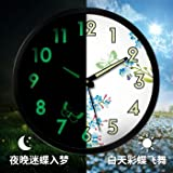 Gyps Horloge Murale Moderne silencieuse Clock Children Wall Clock Horloge de Mur Art...