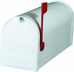 """Boite aux lettres, Aluminium Blanc, """"Made in USA"""" - US-Mailbox"""