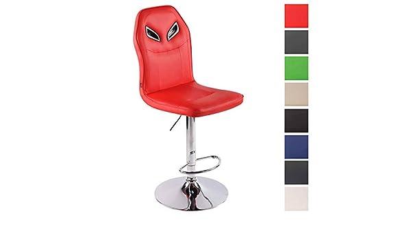 Clp sgabello design sportivo prost in similpelle sedia sgabello