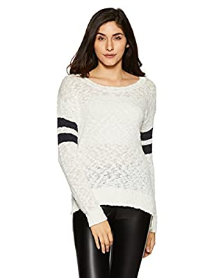 Aeropostale Women's Cotton Quilted Sports Knitwear