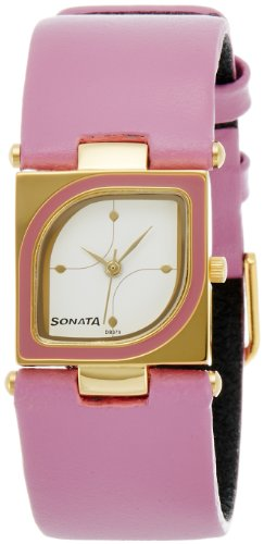 Sonata Analog White Dial Women's Watch - ND8919YL01A image