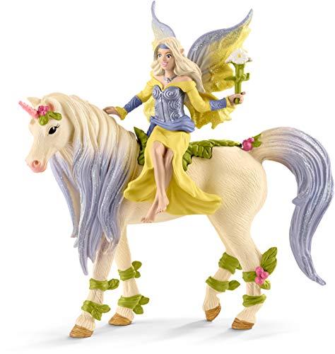 Schleich- Hada Sera con Unicornio Florido (70565)