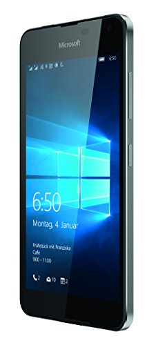 Microsoft Lumia 650 Dual-SIM Smartphone (5 Zoll (12,7 cm) Touch-Display, 16 GB Speicher, Windows 10) schwarz - 3