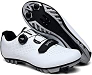 Cycling Spinning Shoe Lightweight Mountain Bike Cycle Shoes With Adjustable Rotating Buckle And Velcro Strap 1