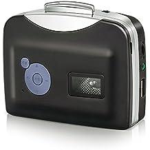 IIEasy Convertitore digitale musicassette in MP3 CD Mangianastri Mangia Nastri Tape - SENZA PC - Cassette a Convertitore portatile