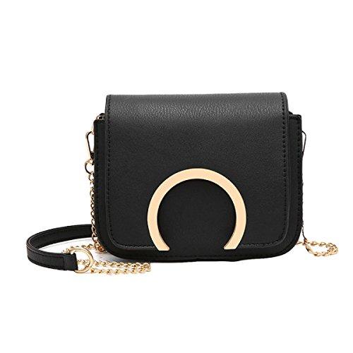 Handtaschen Umhängetasche Mode Kette Tasche Messenger Bag Wilden Kleinen Paket Black