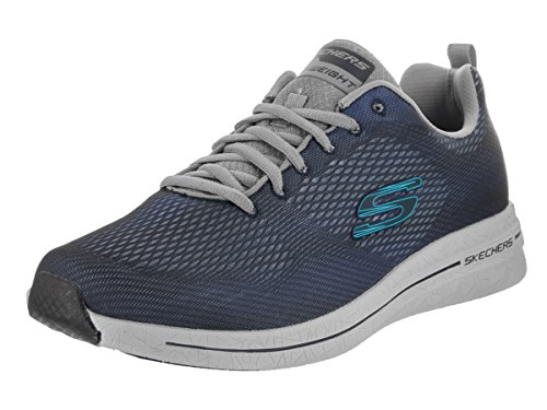 Skechers Burst 2.0 Synthétique Baskets Navy-Gray