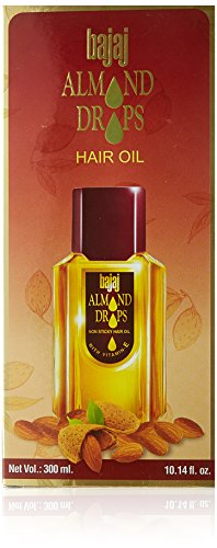 Bajaj Almond Drops Hair Oil, 300ml  available at amazon for Rs.155