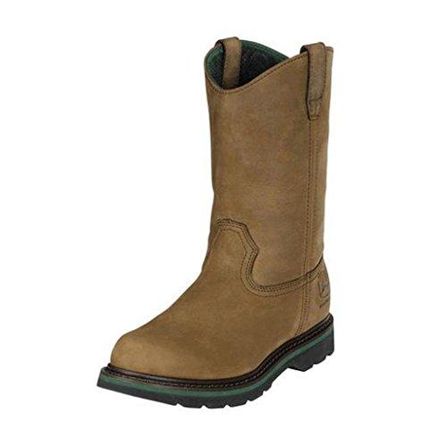 john-deere-mens-11-crazy-horse-leather-wellington-work-boots-jd5124-jd5124w75-uk-65w