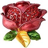 Xiang Rose Flor Pin Up Broche de flores para bufanda Bufanda Mujeres Niñas Decoración de Boda