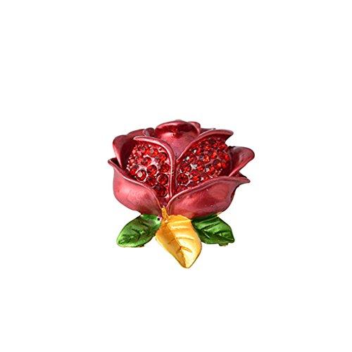 LUFA Rose Fleur Broche Broche fleur pour châle Foulard Femmes Filles Décoration de mariage