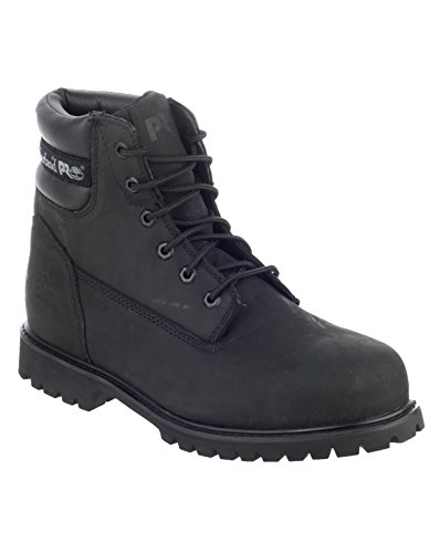 Timberland Pro UK 9 Traditional Wide Work Safety Boots - Black