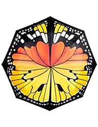 SUCK UK SK UMBRELLABUT1 - Paraguas de mariposa