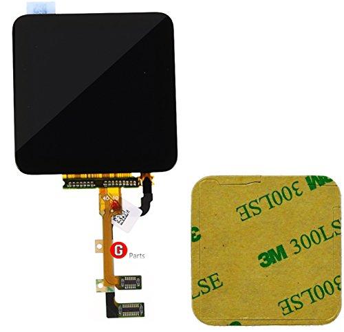 een Glas Digitizer Einheit SCHWARZ für iPod Nano 6 Generation -Ink Doppelseitigen 3M Klebestreifen NEU ()