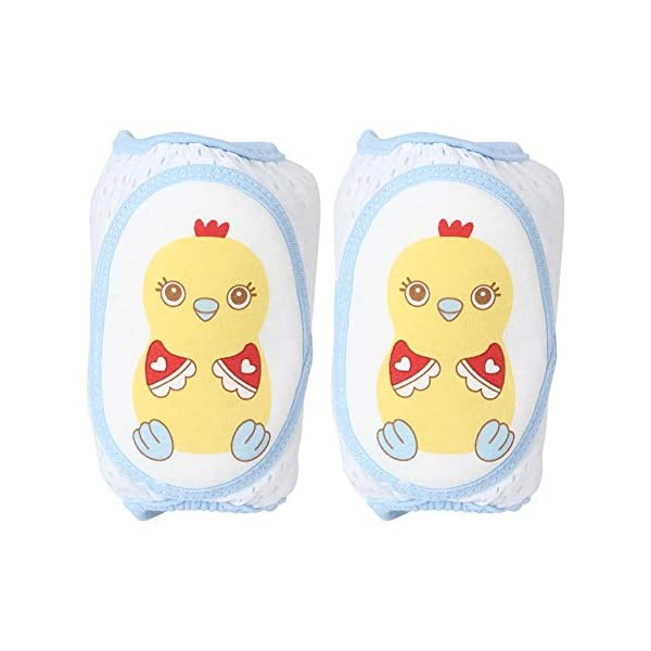 Cojín protector de rodillas de arrastre para bebés, Cojines de codo de rodilla ajustables Protector de seguridad de… 1