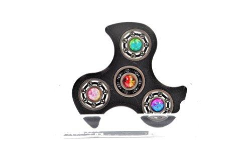 #Fidget Spinner / Keramik Lager / Smart Spin Pearl / EDC Gear / Tri Spinner / Fidget Toy / mit Perlen 3d gedruckt von 4minus1 gegen Nervöse Hände / anti Stress Spielzeug Desktoy#