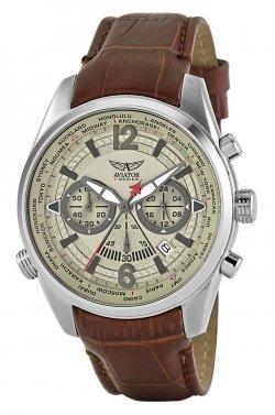 Aviator f-series world-time cronografo