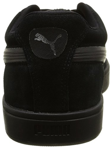 Puma 356414 B, Baskets Basses Mixte Adulte Noir (Black/Black/Puma Silver)
