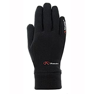 Roeckl Erwachsene Pino Handschuhe, Schwarz, 8