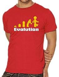 Touchlines Herren T-Shirt Evolution Kult Shirt