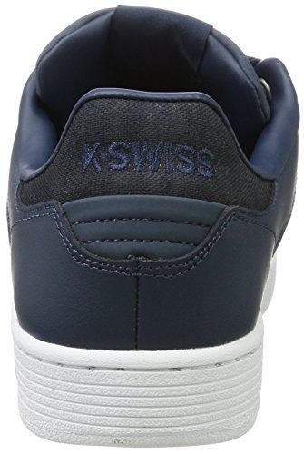 K-swiss Clean Court Cmf, Écharpe De Ginnastica Basse Uomo Blu (midnight Navy / Blanc)
