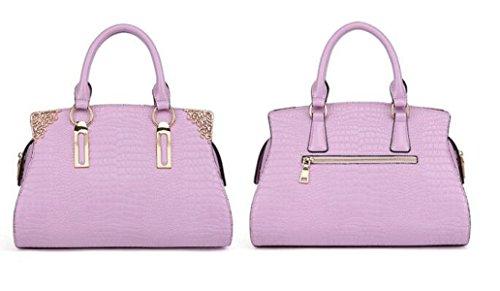Damen Handtaschen Handtaschen Umhängetasche Krokodil Muster Leder Handtaschen Europa Und Die Vereinigten Staaten Fashion Elegant Einfache Diagonale Paket D