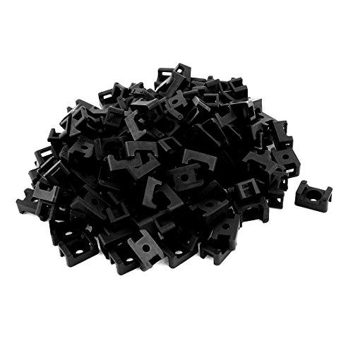 Sourcingmap® vite Monti selle basi fascette culla 150PCS Holder nero