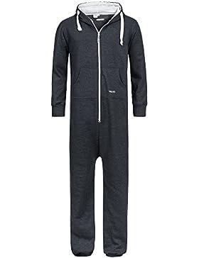 PAULGOS Herren Jumpsuit Jogger Jogging Anzug Trainingsanzug Overall in 7 Farben Gr. S-3XL
